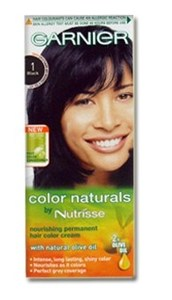 Garnier Color Naturals 1 Black Haircolor 1set