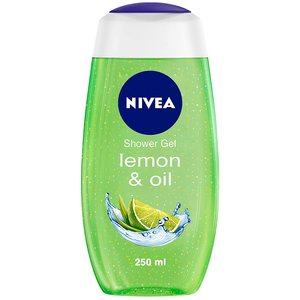Nivea Lemongrass & Oil Shower Gel Caring Oil Pearls Lemongrass Scent 250ml