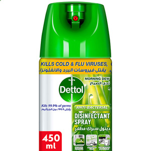 Dettol Morning Dew Antibacterial All in One Disinfectant Spray 450ml