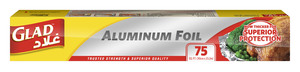 Glad Aluminum Foil 75Sqft 12pc
