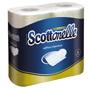 Scottonelle Toilet Tissue 4pc