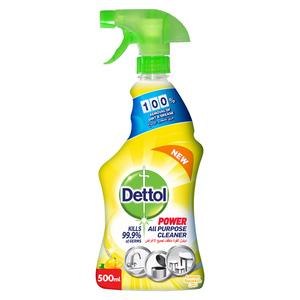 Dettol Power All Purpose Cleaner Trigger Spray Lemon Scent 500ml