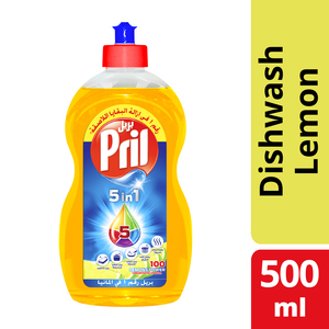 Pril Multi Power Dishwashing Liquid Lemon 500ml