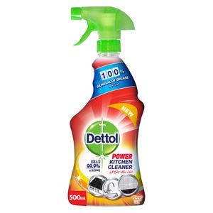 Dettol Power Kitchen Cleaner Trigger Spray Orange Scent 500ml