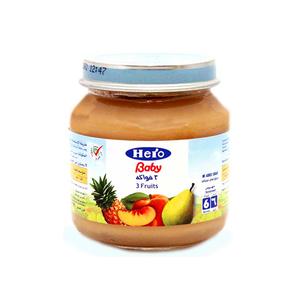 Hero Baby 3 Fruits 125g