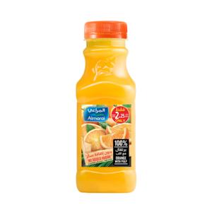 Almarai 100% Orange With Pulp Juice 300ml