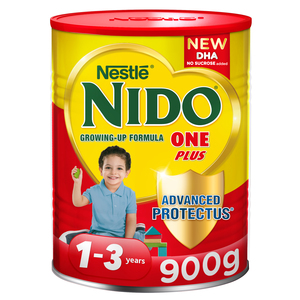 Nestle Nido One Plus Growing Up Milk Powder For Toddlers 1-3 Years 900g