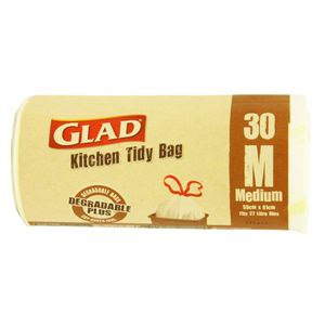 Glad Tidy Bag Roll Medium 30s