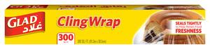 Glad Cling Wrap 300 Sqft 12pc
