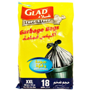 Glad Garbage Bags Extra Large 18s