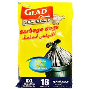 Glad Garbage Bags Large Drawstring 12x20ct