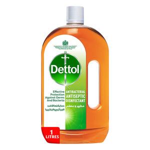 Dettol Antibacterial & Antiseptic Liquid Disinfectant 1L
