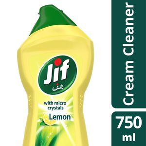 Jif Cream Cleaner Lemon 750ml