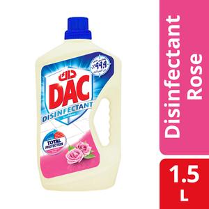 Dac Disinfectant Rose 1.5L