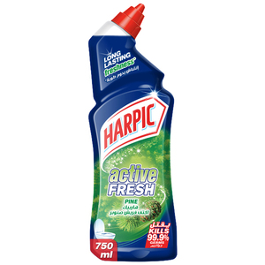 Harpic Toilet Cleaner Liquid Active Fresh Pine 750ml