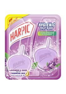 Harpic Hygenic Plus Lavender & Sage 40g