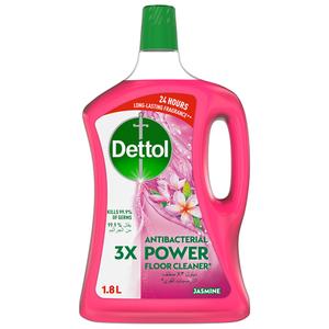 Dettol Jasmine Antibacterial Power Floor Cleaner 1.8L