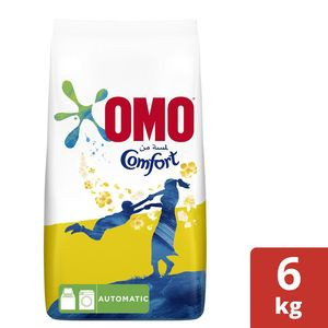 Omo Active Auto Laundry Detergent Powder With Comfort 6kg