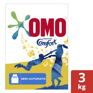Omo Active Laundry Detergent Powder With Comfort 3kg