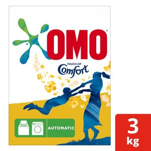 Omo Active Automatic Laundry Dertergent Powder With Comfort 3kg