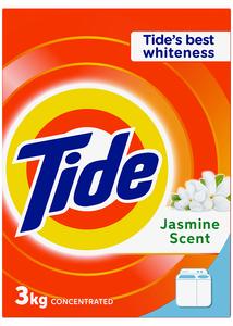 Tide Laundry Powder Detergent Jasmine Scent 3kg