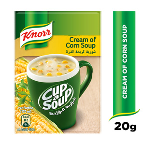 Knorr CupASoup Cream Of Corn 20g