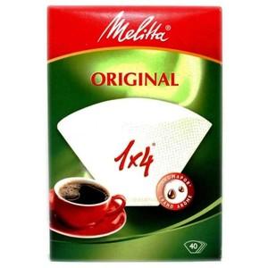 Melitta Coffee Filter 1x4 40pcs
