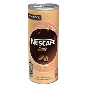 Nescafe Latte Ice Coffee Can 240ml