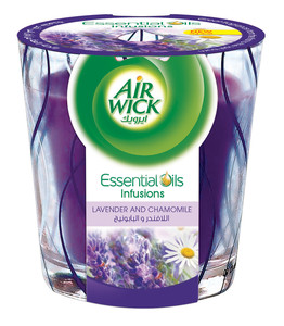 Air Wick Air Freshener Candle Lavender & Camomile 105g