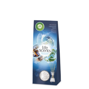 Air Wick Air Freshener Freshmatic Life Scents Turquoise Oasis Reed Difuser 30ml