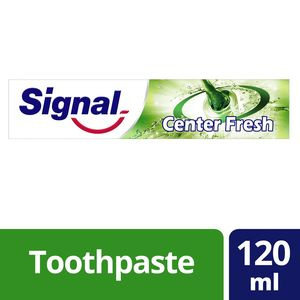 Signal Toothpaste Freshness Centre Fresh Lime & Mint 120ml