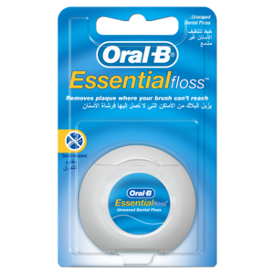 Oral B Essential Floss Unwaxed 50m