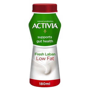 Activia Fresh Low Fat Laban 180ml
