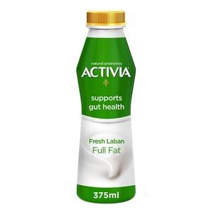 Activia Fresh Laban Full Fat 375ml