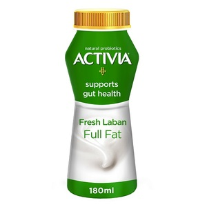 Activia Fresh Laban Full Fat 180ml