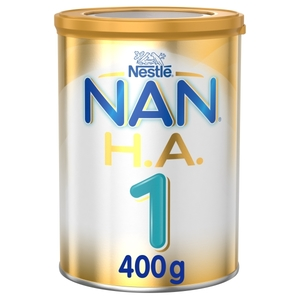 Nestle NAN Supreme H.A. Stage 1 Hypoallergenic Starter Infant Formula For Birth To 6 Months 400g