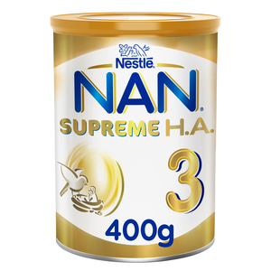 Nestle NAN Supreme H.A. Stage 3 Hypoallergenic Growing Up Milk For 1 to 3 Years 400g