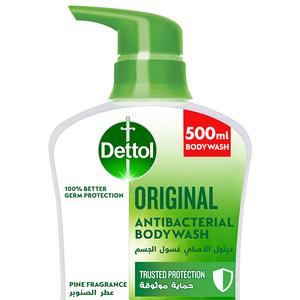 Dettol Original Showergel & Bodywash Pine Fragrance 500ml