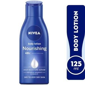 Nivea Nourishing Body Lotion With Almond Oil Extra Dry Skin 125ml