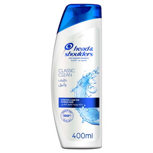 Head & Shoulders Classic Clean Anti Dandruff Shampoo 400ml