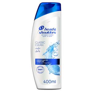 Head & Shoulders Classic Clean Anti-Dandruff Shampoo 400ml