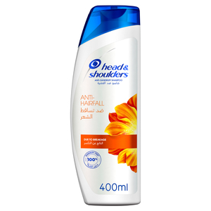 Head & Shoulders Anti Hairfall Anti Dandruff Shampoo 400ml