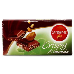 Canderel Chocolate Crispy Almond 85g