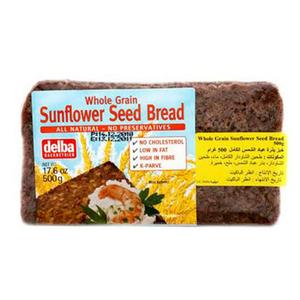 Delba Whole Grain Sunflower Seed Bread 500g