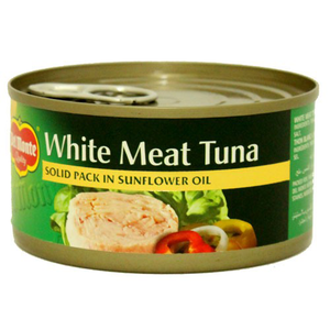 Del Monte White Meat Tuna Solid Pack In Sunfower Oil 185g