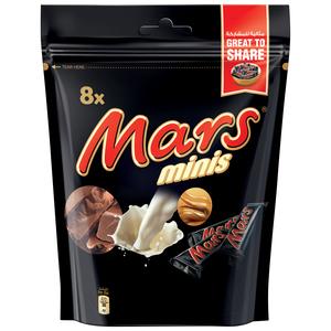Mars Minis Chocolate Mini Bars Pouch 150g