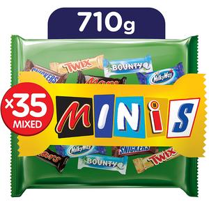 Best Of Minis Chocolate 710g