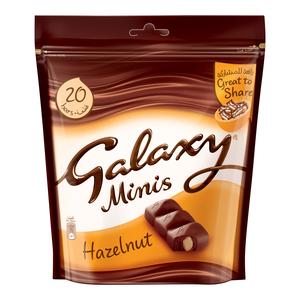 Galaxy Mini Hazelnut Chocolate 250g