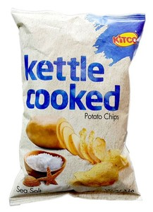 Kitco Chips Kettle Cooked Chips Sea Salt 40g