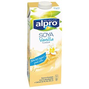 Alpro Soya Drink Vanilla 1L